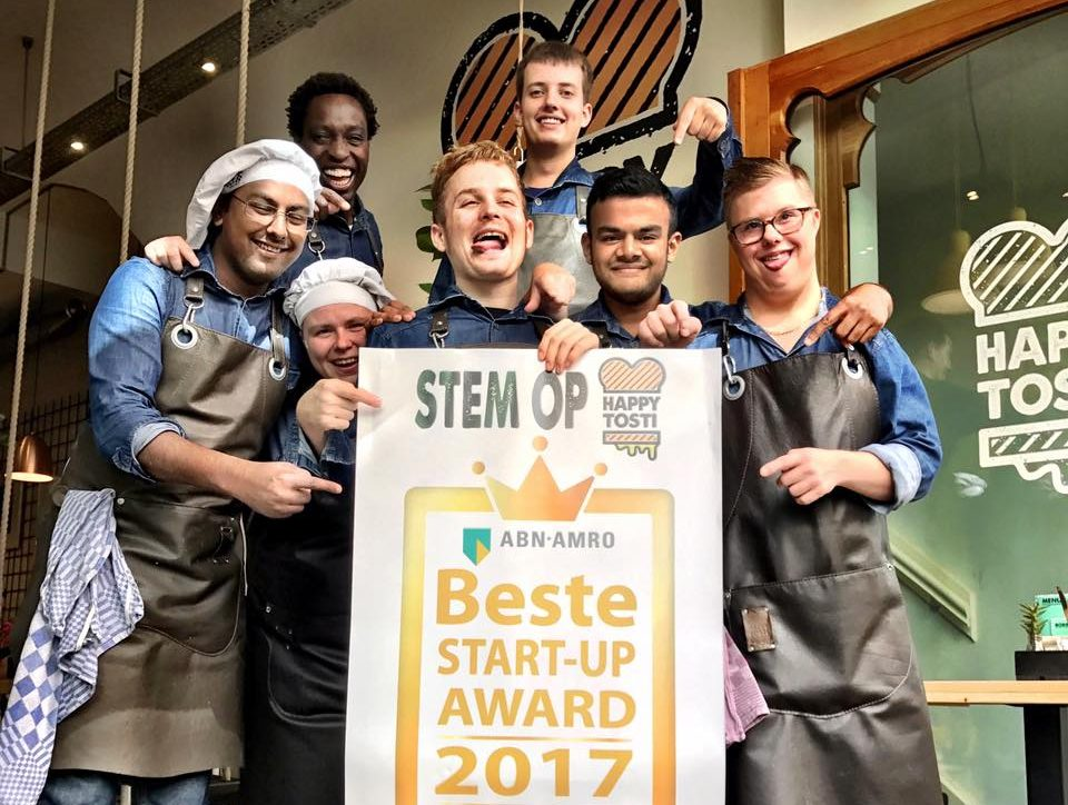 Happy Tosti genomineerd Beste Start-up Award